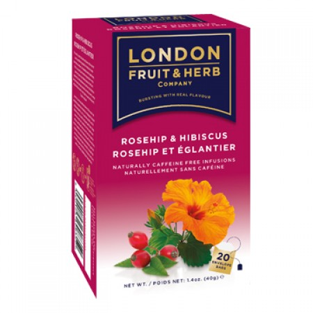 LONDON 芙賀茶 玫瑰果 (2gx20入/盒)