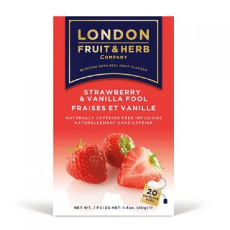LONDON 芙賀茶 草莓香草 (2gx20入/盒)