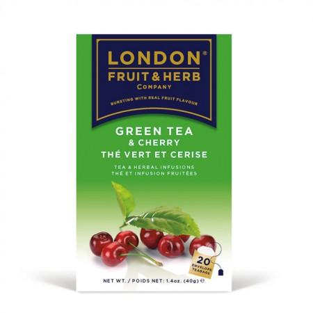 LONDON 芙賀茶 櫻桃綠茶(2GX20入/盒)