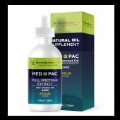綠金園MCT有機椰子油-MEDPAC 梅德派克 REGULAR 原味 4000 (120ML)