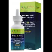 綠金園MCT有機椰子油-MEDPAC 梅德派克 REGULAR 原味 1000 (30ML)