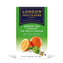 LONDON 芙賀茶 甜橙綠茶(2GX20入/盒)